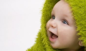 Jeune bébé ATM